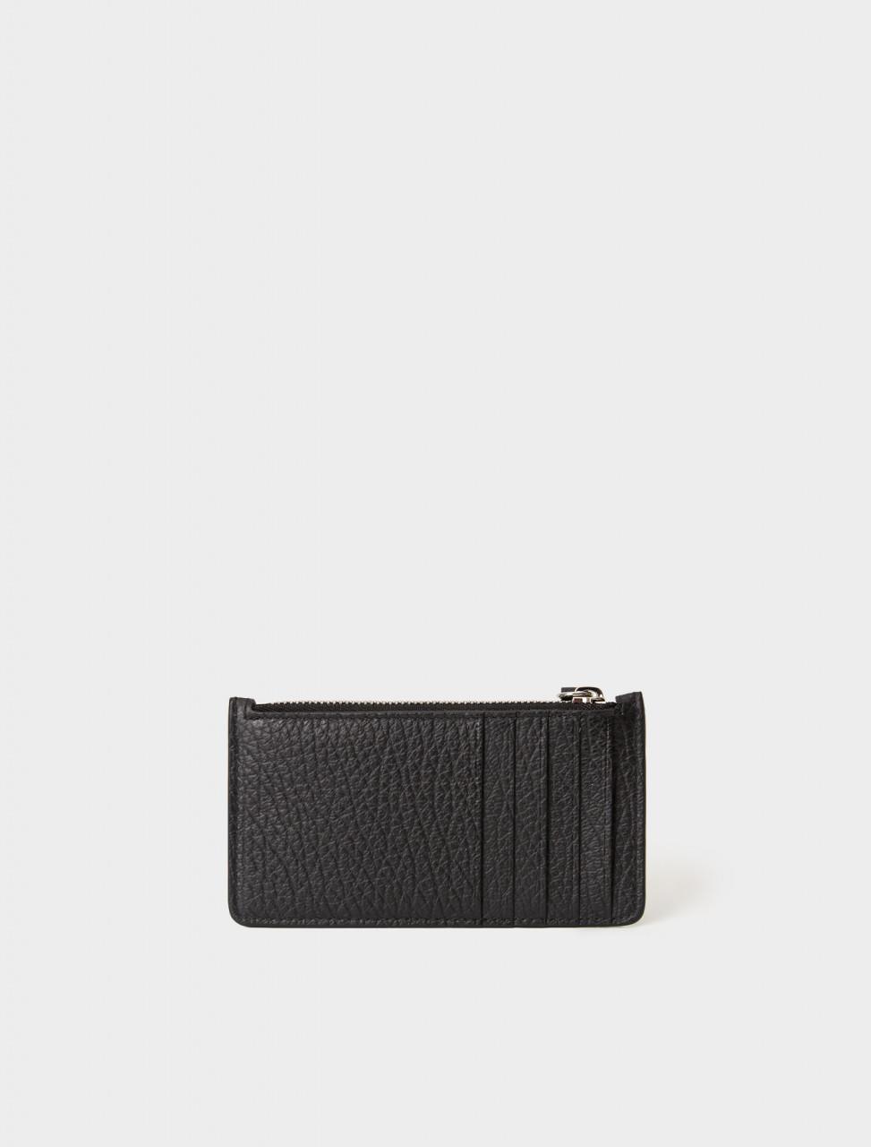 S56UI0143 MAISON MARGIELA CARD WALLET BLACK