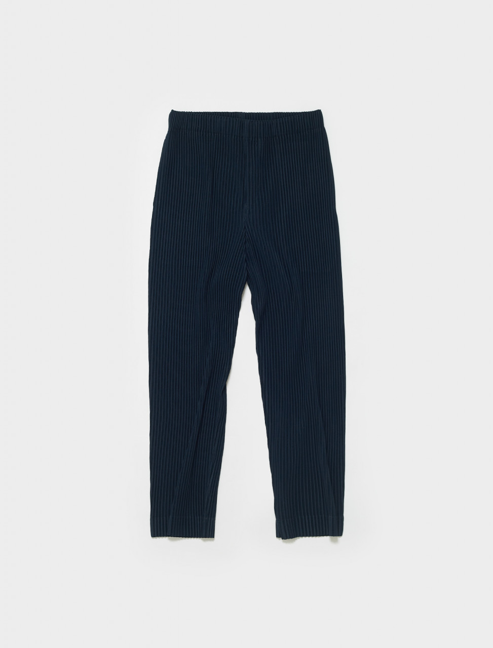 HP16JF113-75 ISSEY MIYAKE HOMME PLISSE PLEATED TROUSER BLUE