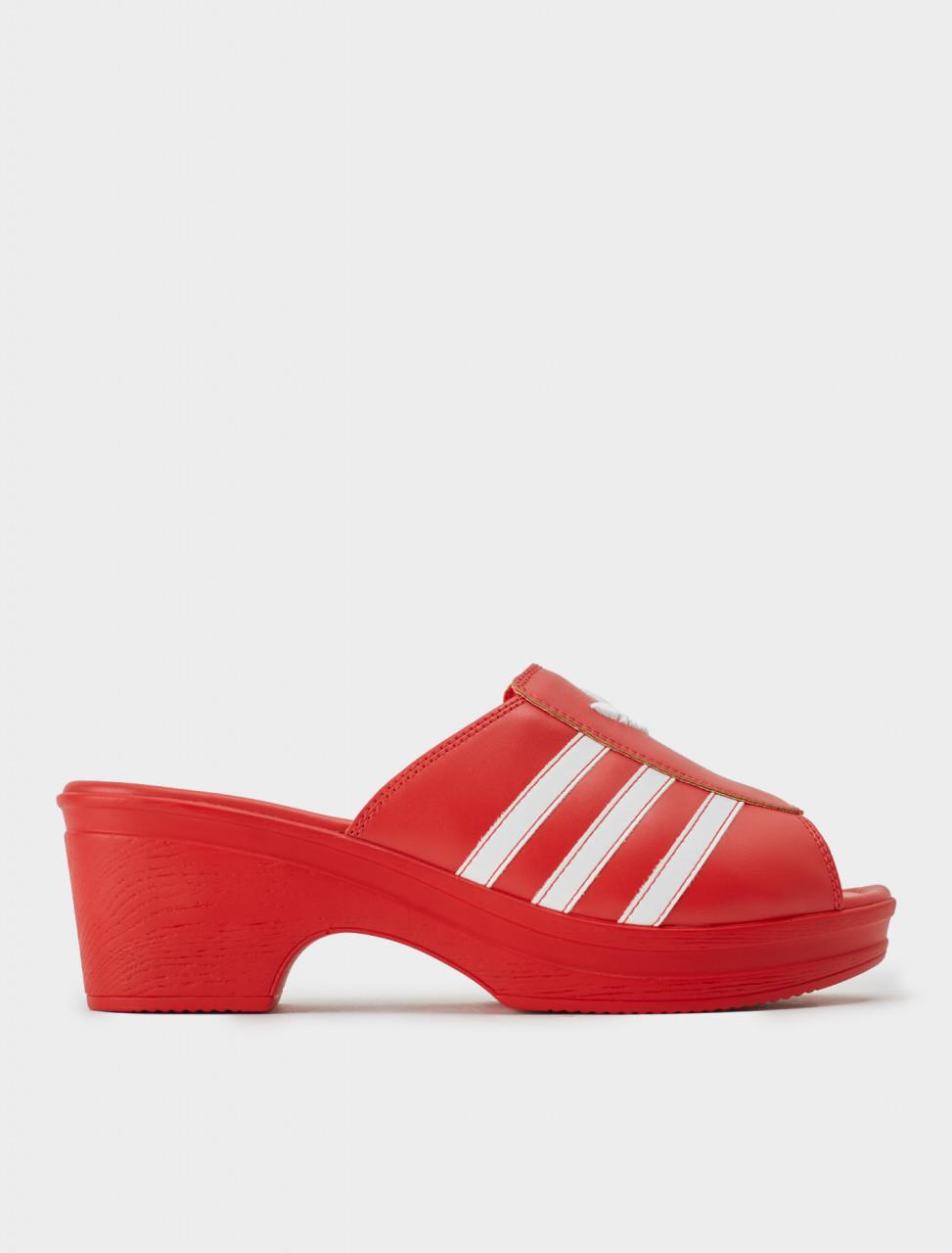 Adidas x Lotta Volkova Trefoil Mule Side
