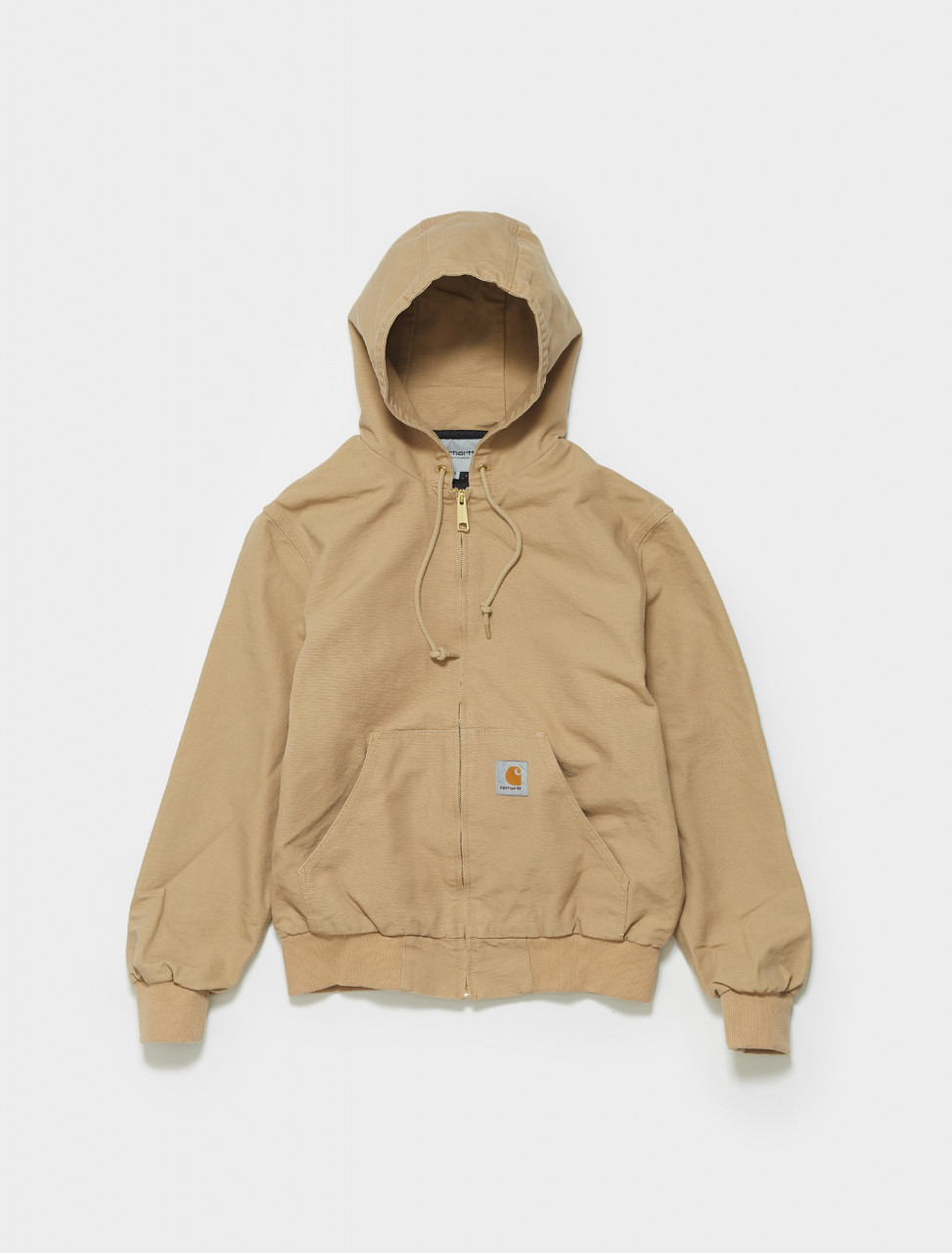 I029242-07E CARHARTT ACTIVE JACKET IN DUSTY H BROWN