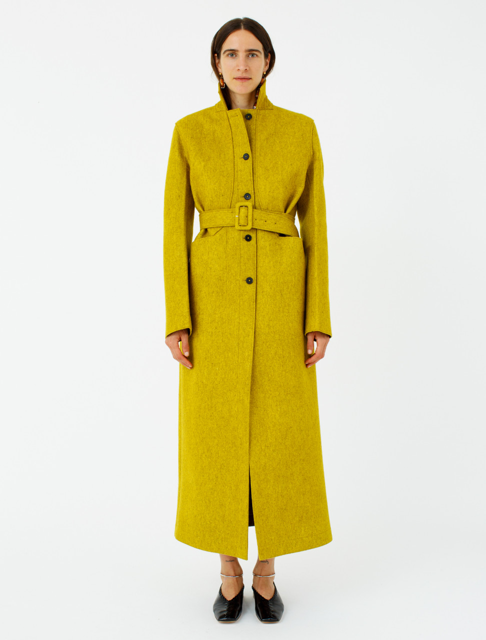 Jil Sander Deconstructed Coat