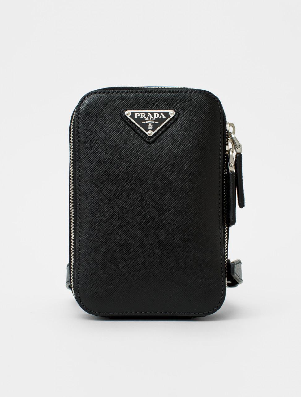 Saffiano Leather Torso Bag