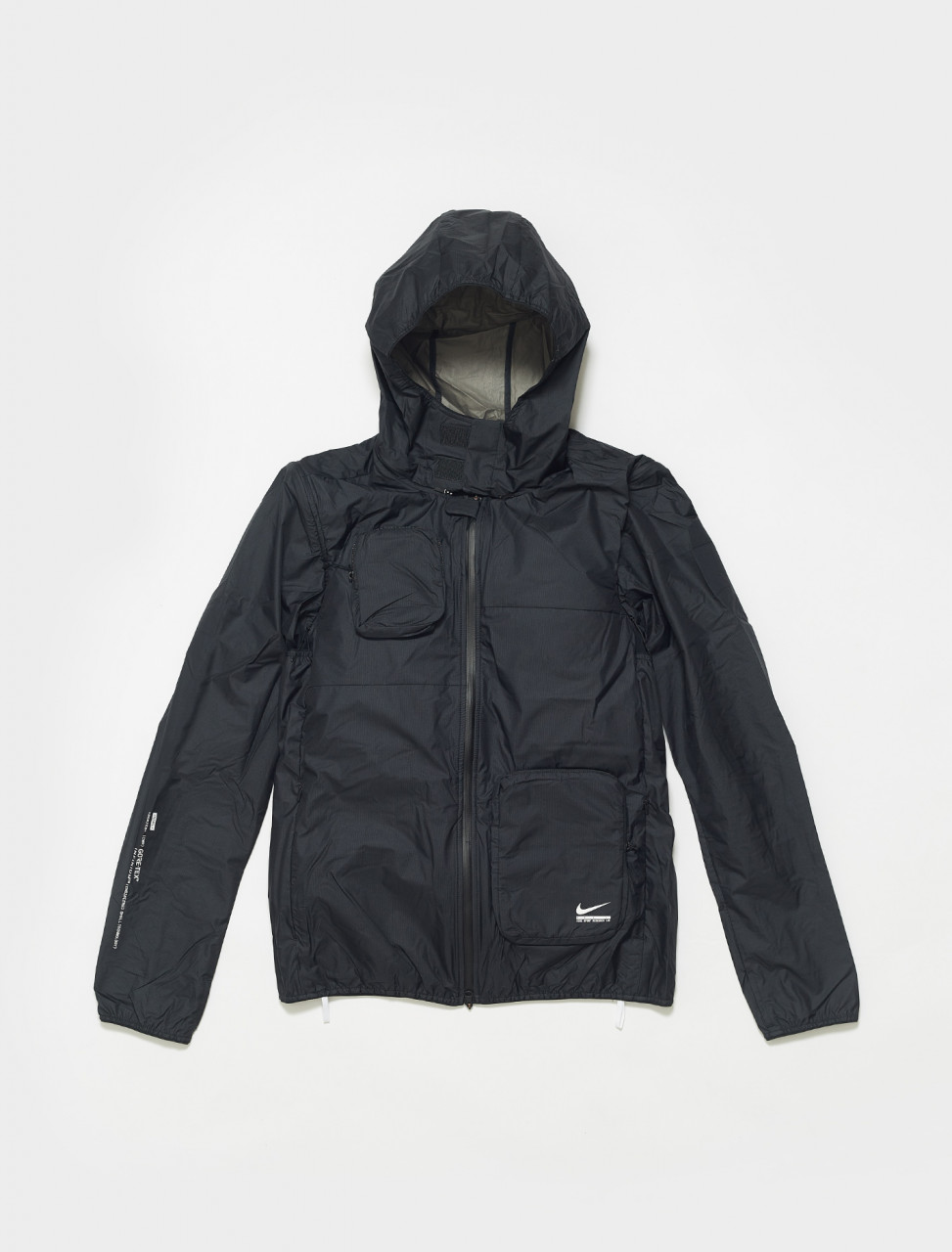 DB0818-010 NIKE MENS SPORTS RESEARCH LAB TRANSFORM JACKET BLACK