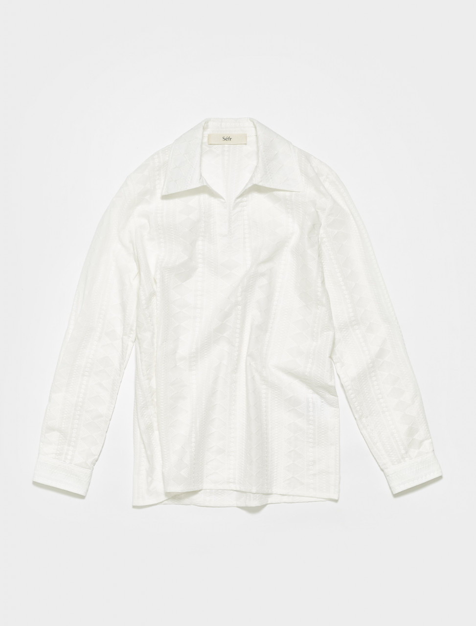 MS-LW SEFR MATE SHIRT IN LIVING WHITE