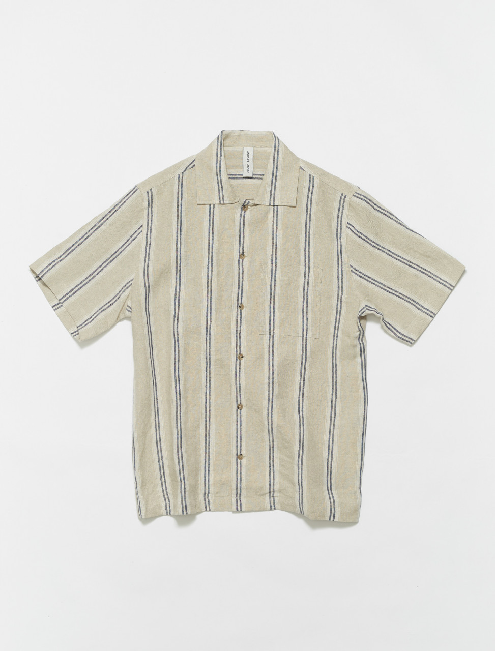 101010-100 ANOTHER ASPECT ANOTHER SHIRT 2.0 IN BLUE STRIPE