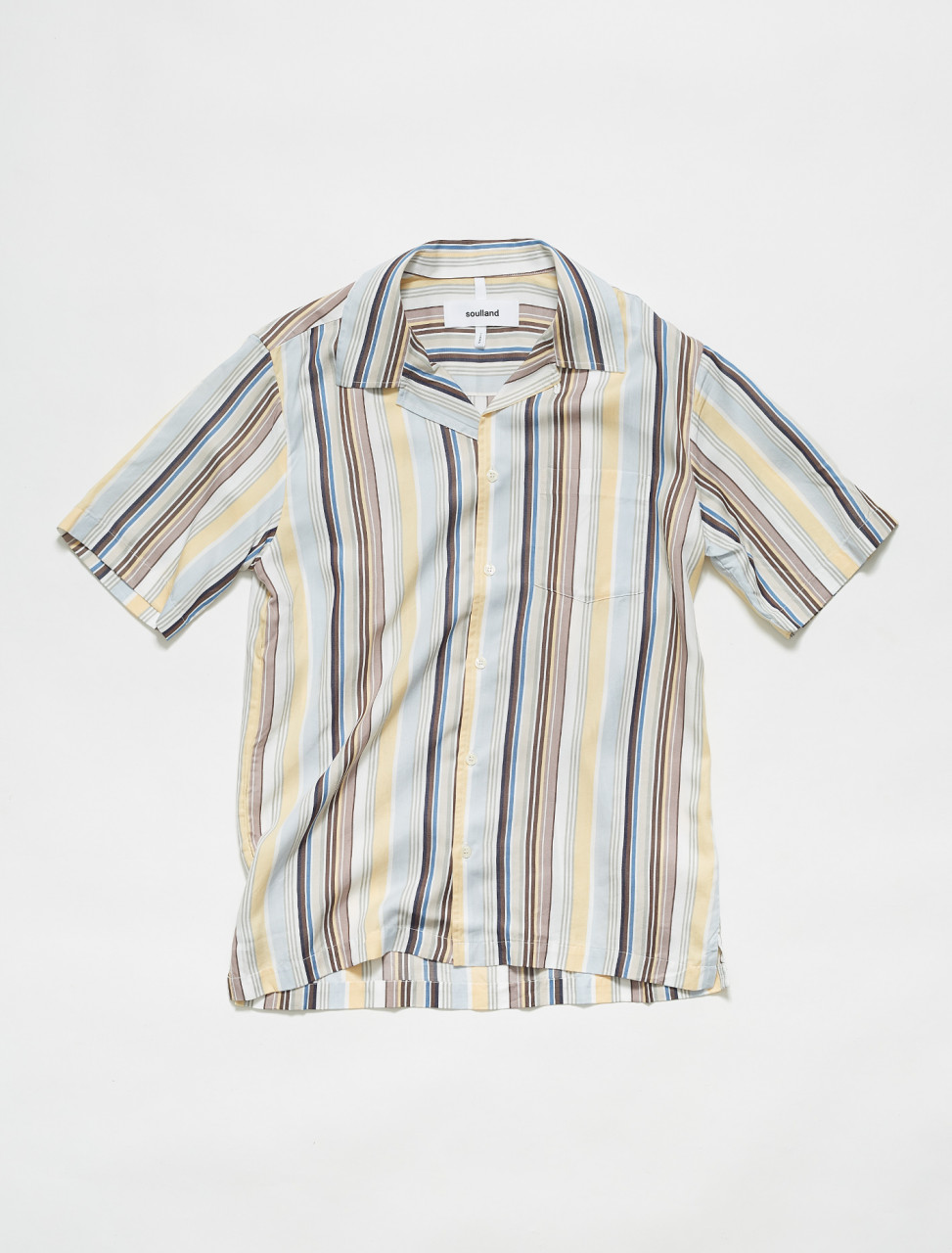 159-01-04-011 SOULLAND ORSON SHIRT MULTI