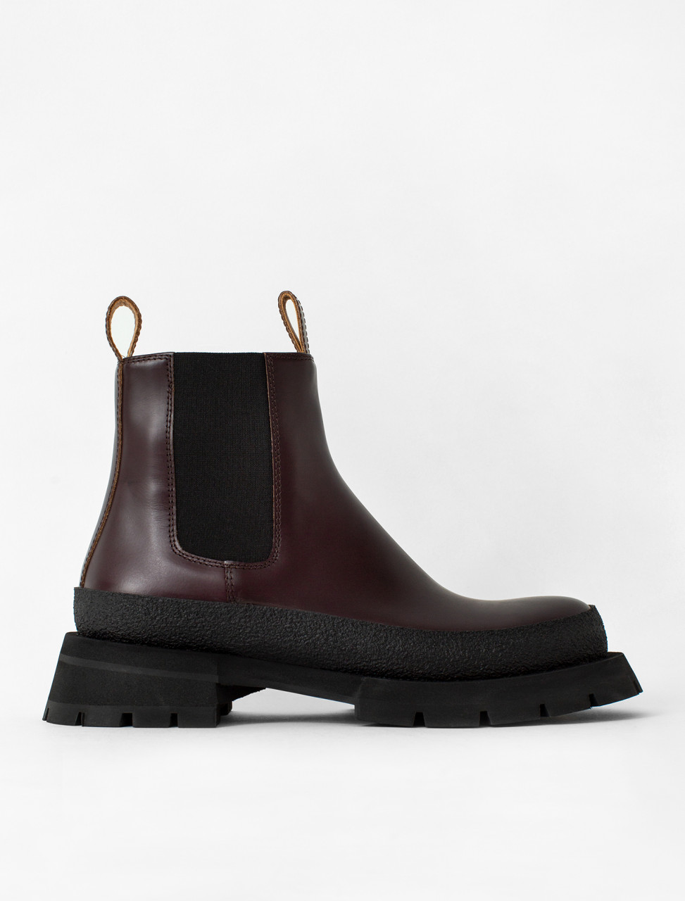 Ankle Boot in Burgundy