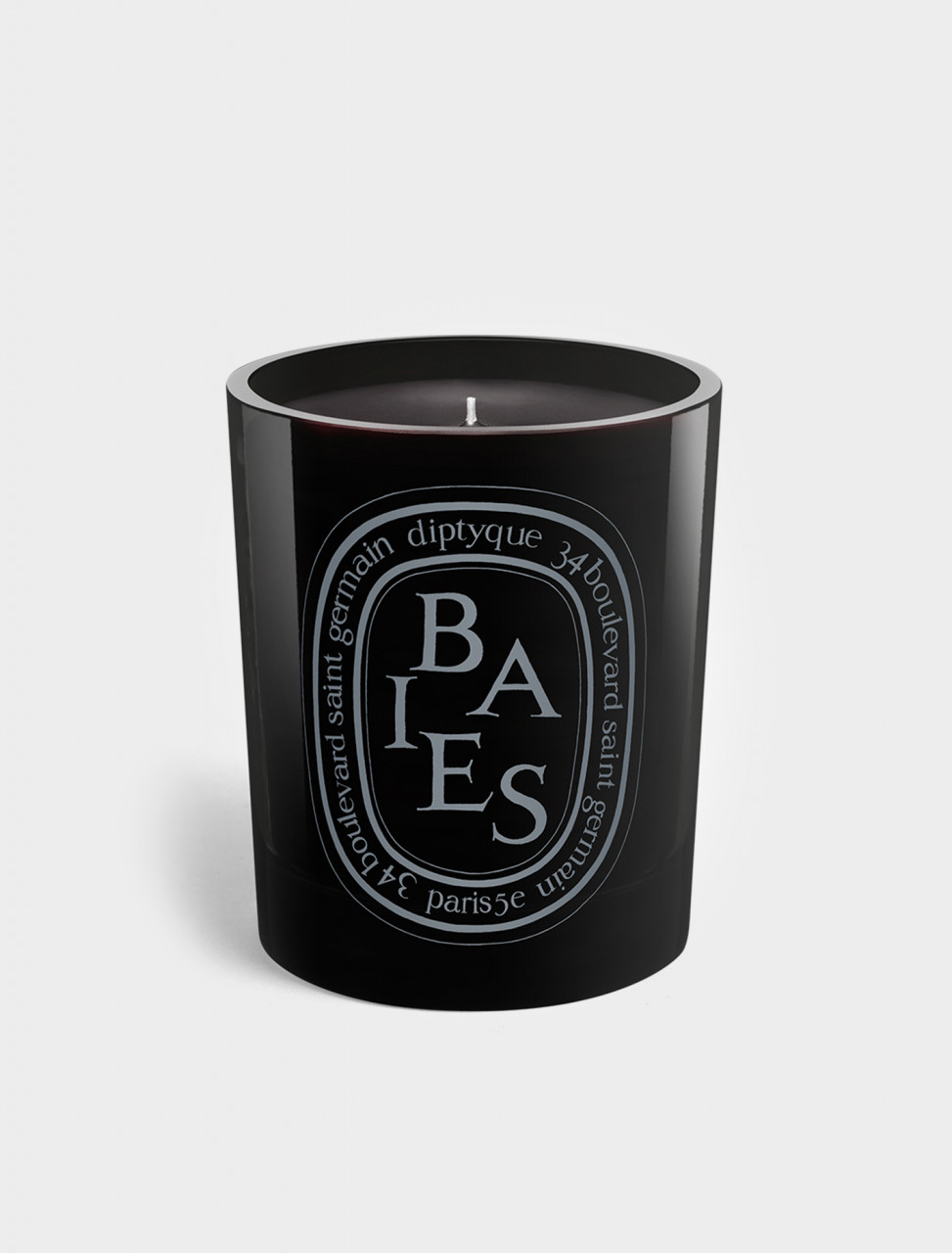 337-BN2 DIPTYQUE BAIES BLACK CANDLE