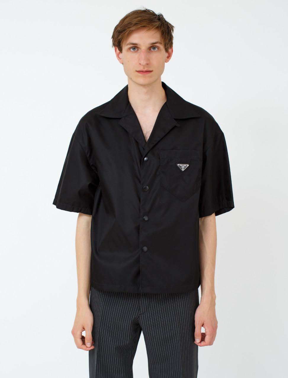Nylon Gabardine Short Sleeve Shirt