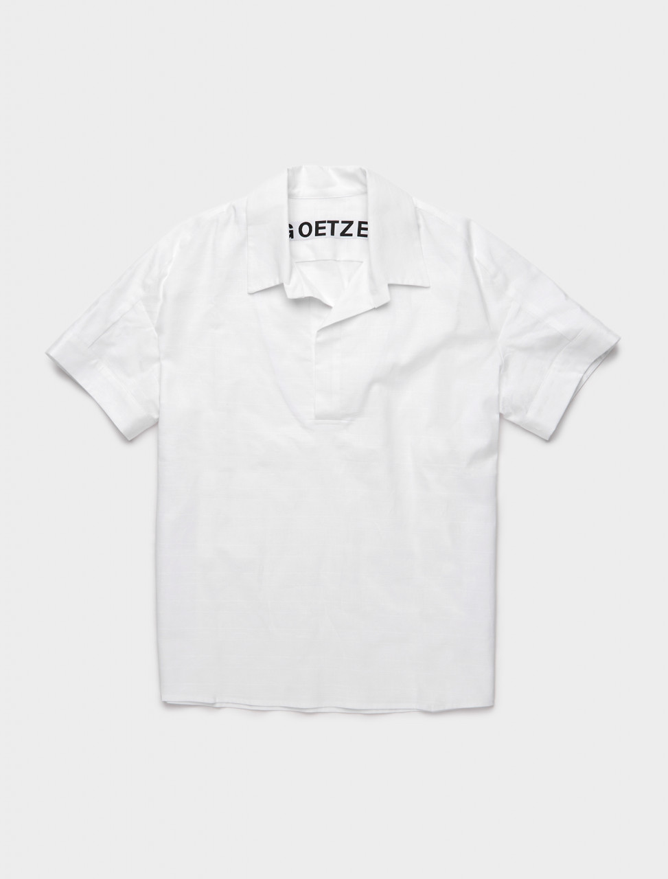 JIM01 GOETZE JIM POLO SHIRT WHITE
