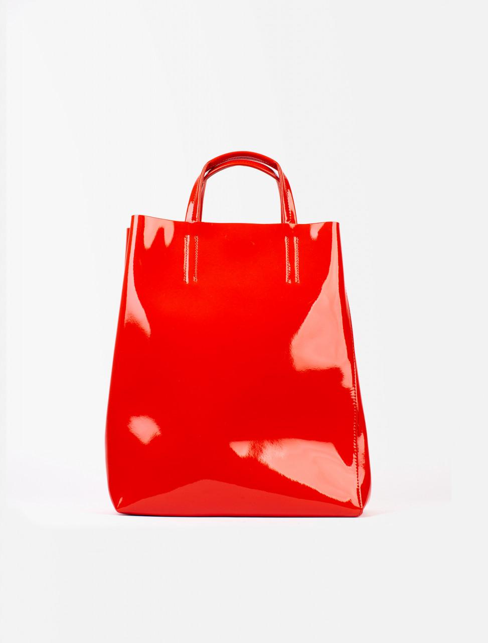 Baker Patent Medium Bag