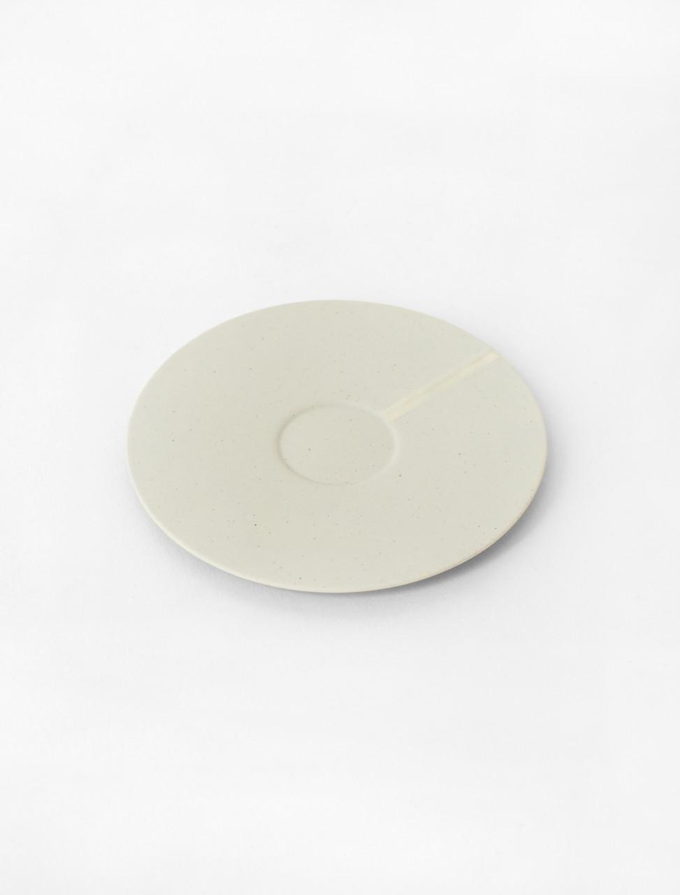 Paper Porcelain Espresso Saucer