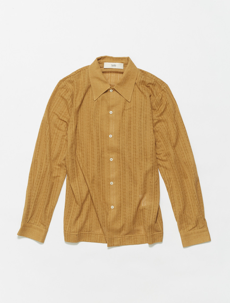 RS-MY SEFR RIPLEY SHIRT MEDALLION YELLOW