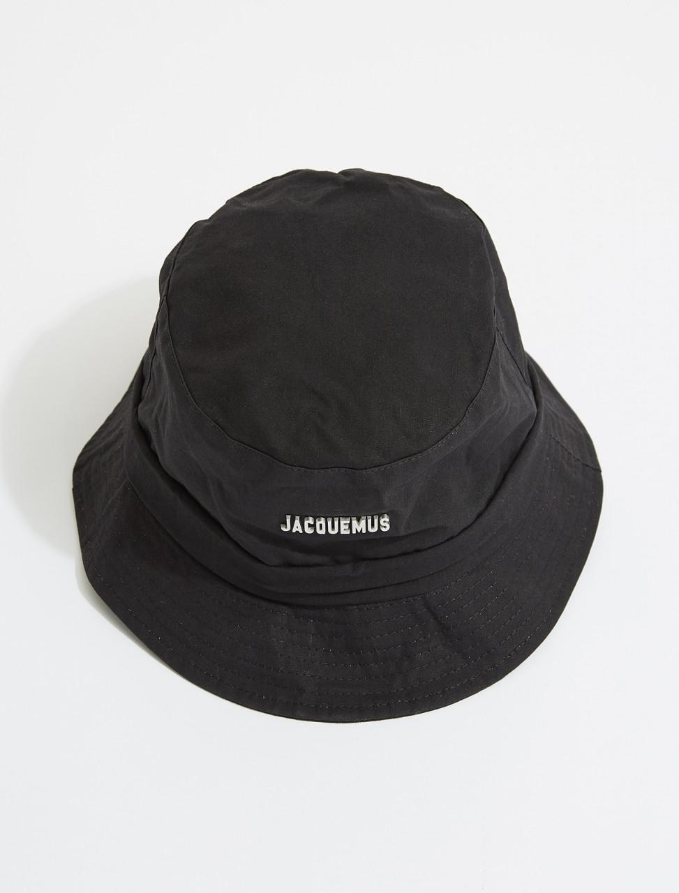 215AC03-215-504990 JACQUEMUS LE BOB GADJO HAT BLACK