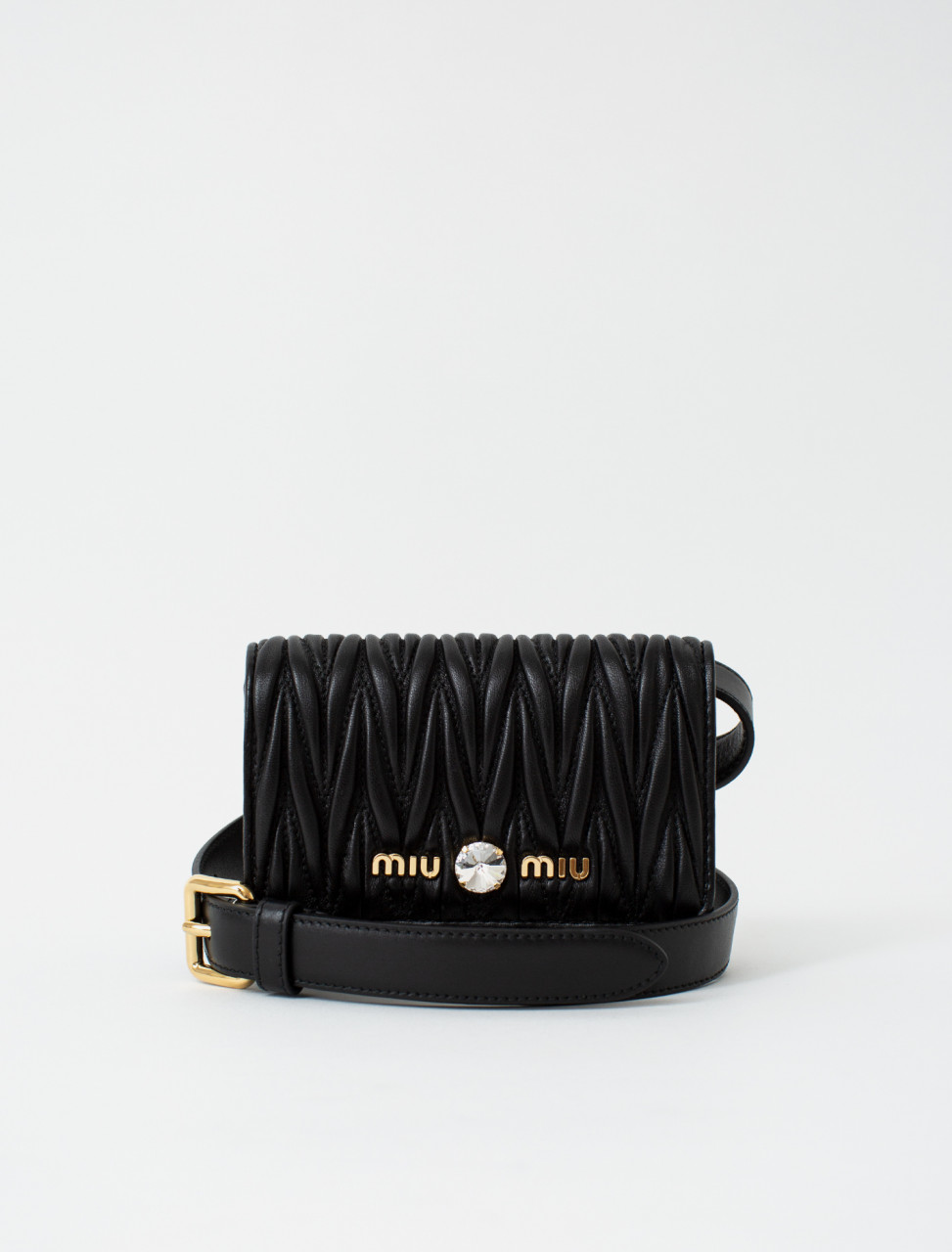Matelasse Mini Belt Bag