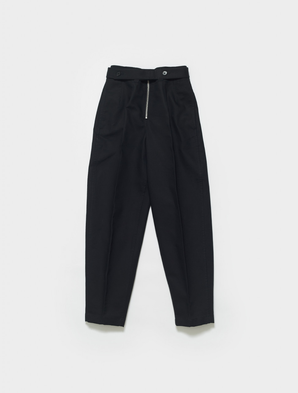 JSPS311205-WS241600-001 JIL SANDER HIGH WAISTED TROUSER BLACK