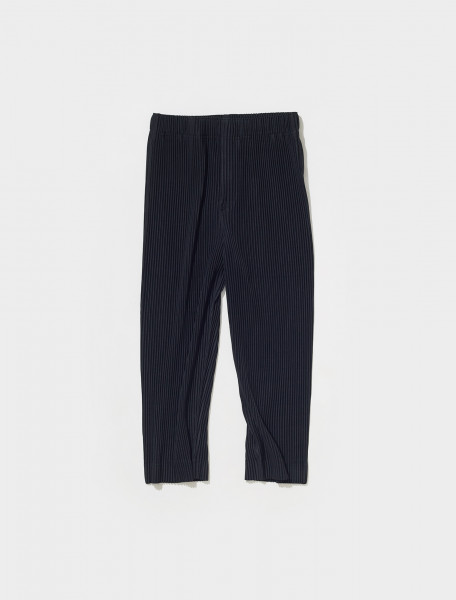 HP18JF131 15 HOMME PLISSÉ ISSEY MIYAKE PLEATED TROUSERS IN BLACK