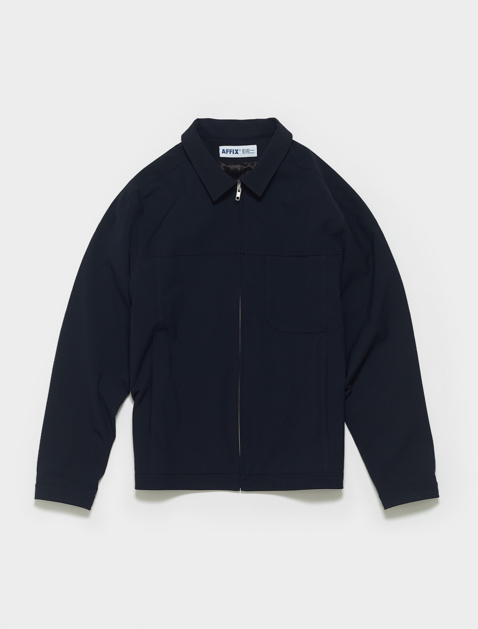 SS21JK02-Dark Navy AFFIX BOXED BLOUSON IN DARK NAVY