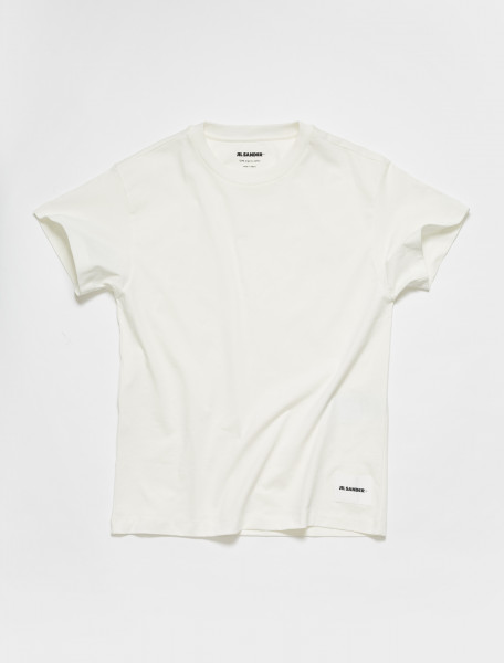 JPPT706540_WT2488 08_100 Jil Sander T-Shirt 3 Pack in White