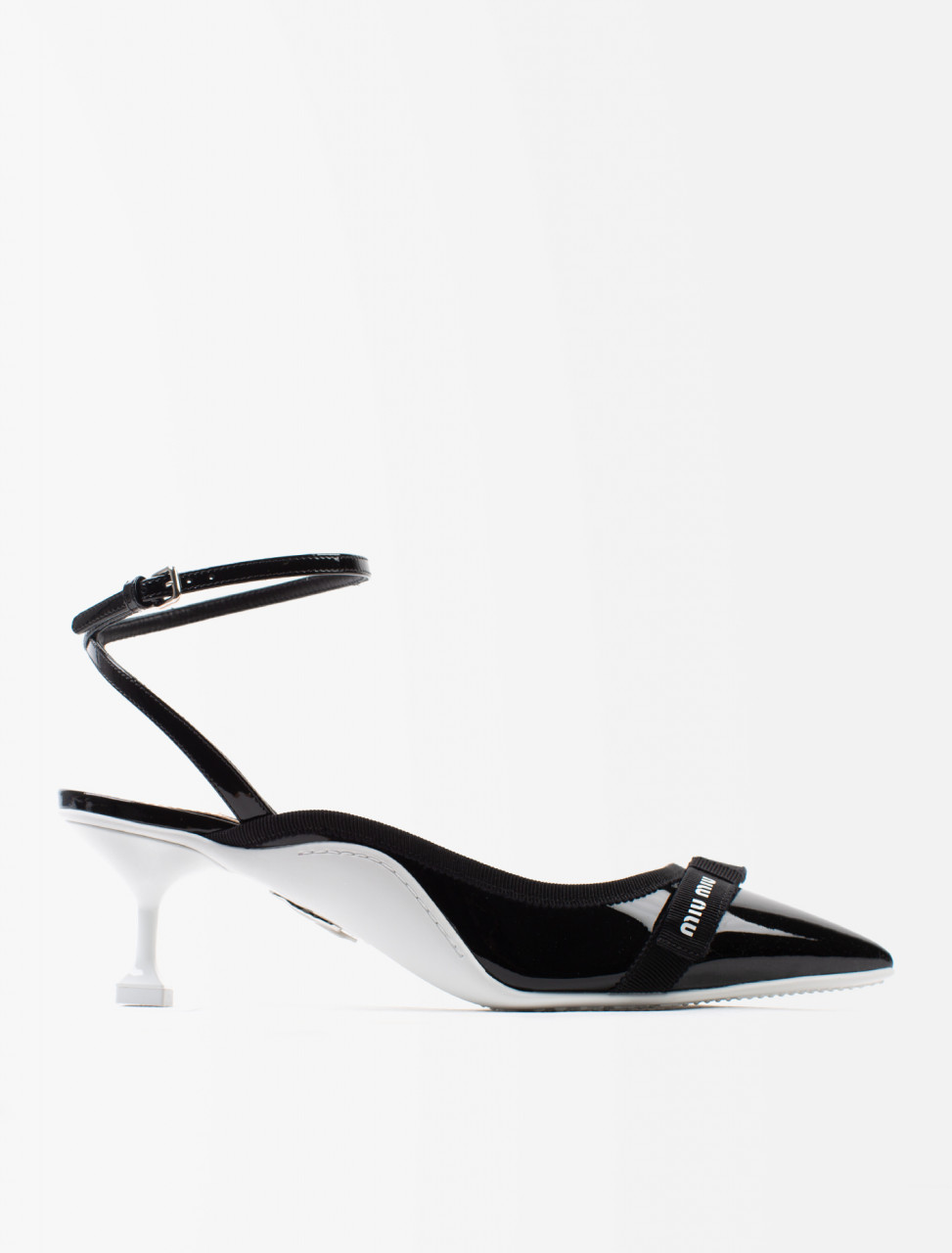 Patent Leather Strap Heels
