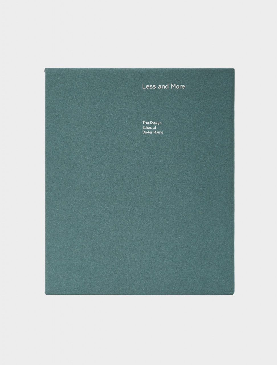 Front Cover of Gestalten Less and More: The Design Ethos of Dieter Rams