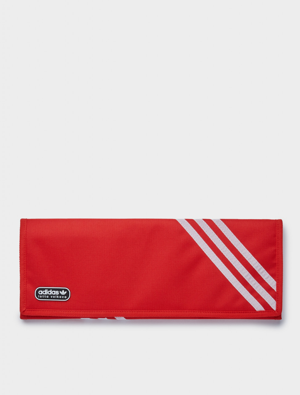 105-GE7801 ADIDAS LOTTA VOLKOVA 3 FOLD CLUTCH RED