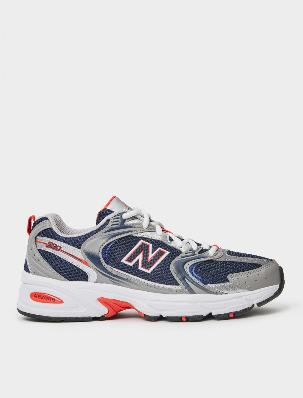 830301-60-10 NEW BALANCE MR530 SNEAKER IN NAVY AND GREY