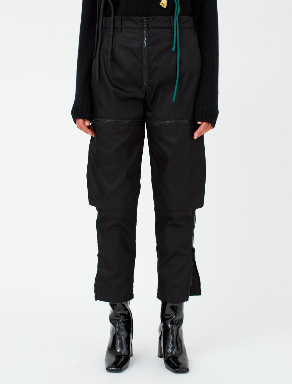 Nylon Front Pocket Trouser
