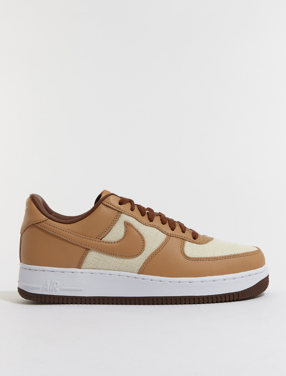 DJ6395-100 NIKE AIR FORCE 1 QS NATURAL UNDERBRUSH ACORN