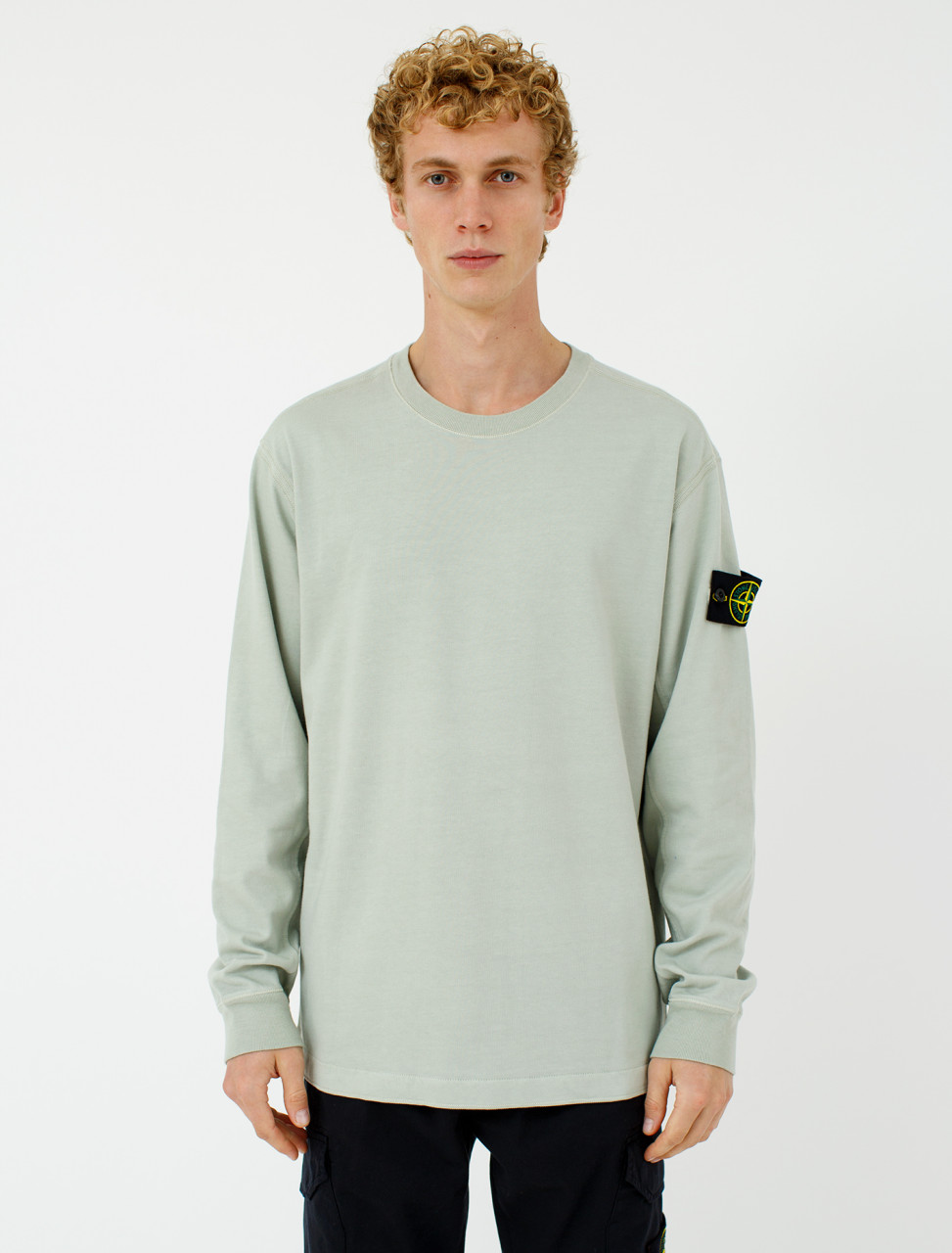 Sweatshirt in Dust