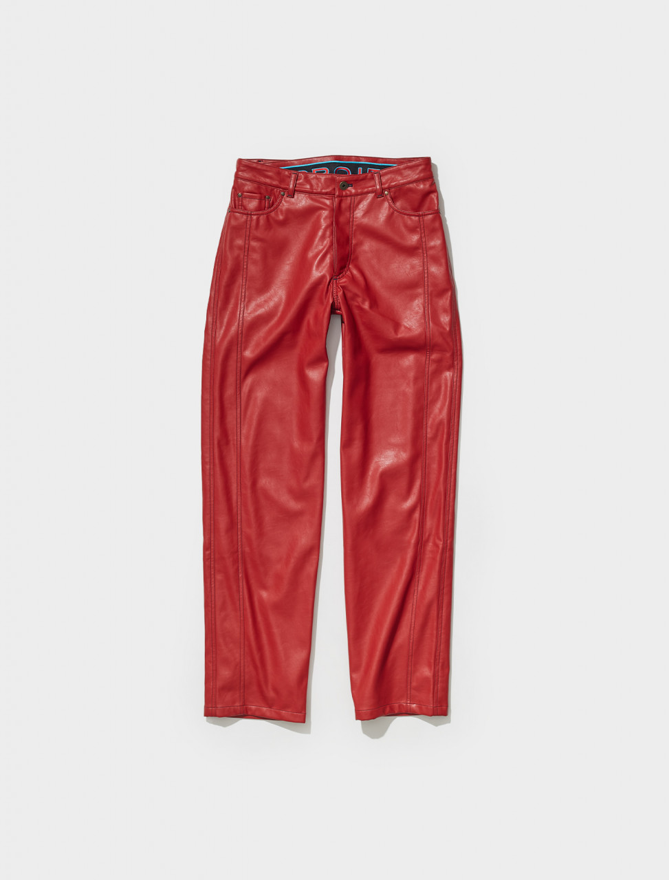PANT74 S21 F322 Y PROJECT BOXER PANT IN RED