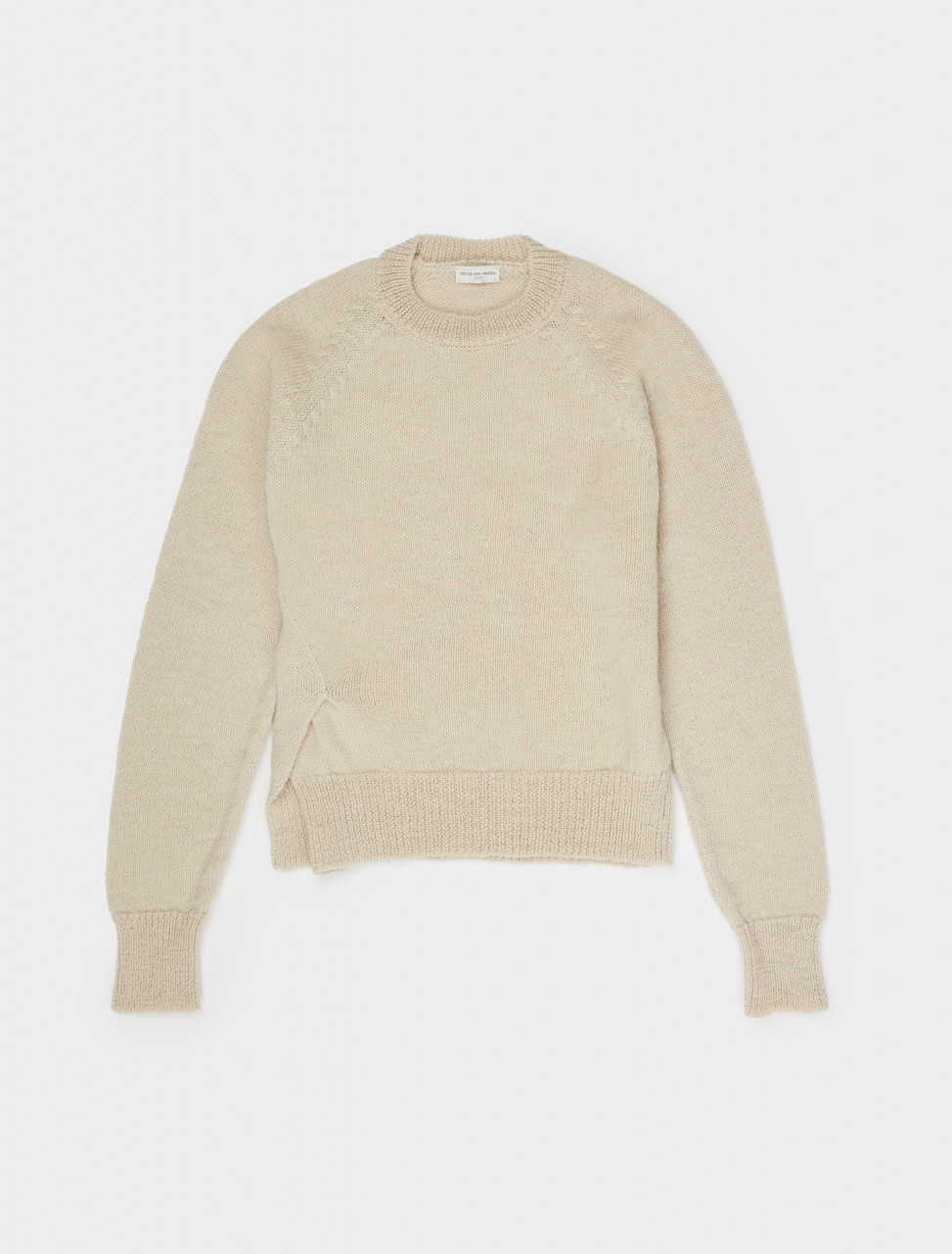 260-202-21242-1703-004 DRIES VAN NOTEN MASAI KNIT NATURAL