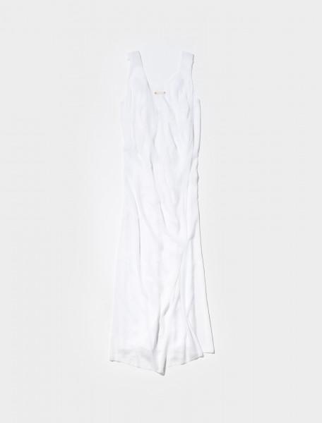 S51CU0268_S53890_100 MAISON MARGIELA DRESS IN WHITE