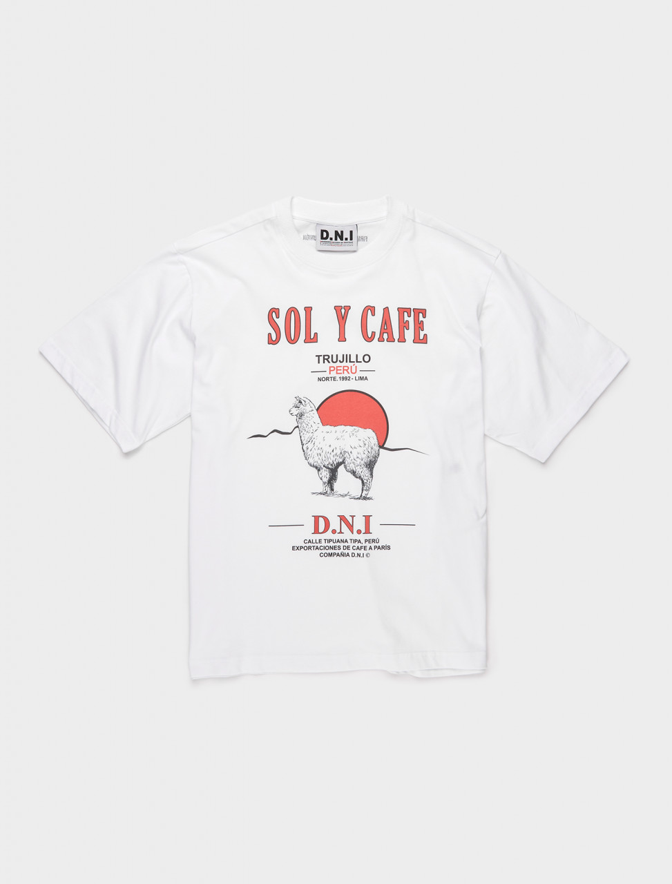 354-T01INT D.N.I SOL Y CAFE T SHIRT