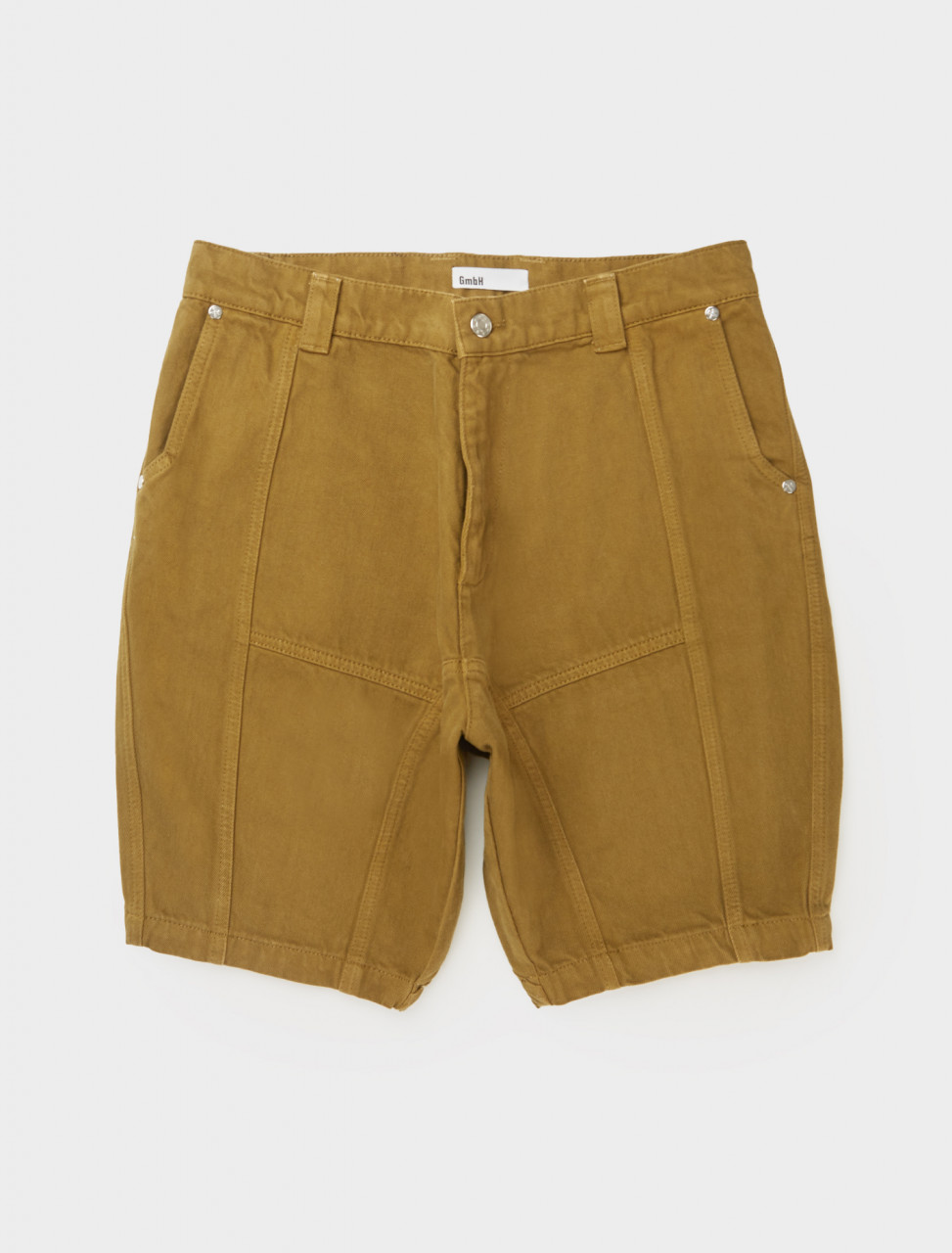 Front view of GmbH Dirk Panelled Shorts