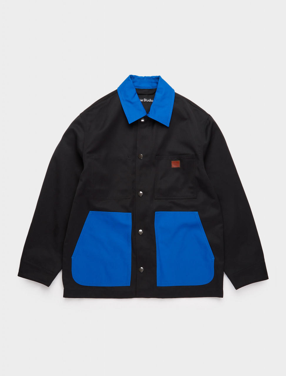 C90060-CLU ACNE STUDIOS WORKWEAR JACKET BLACK BLUE