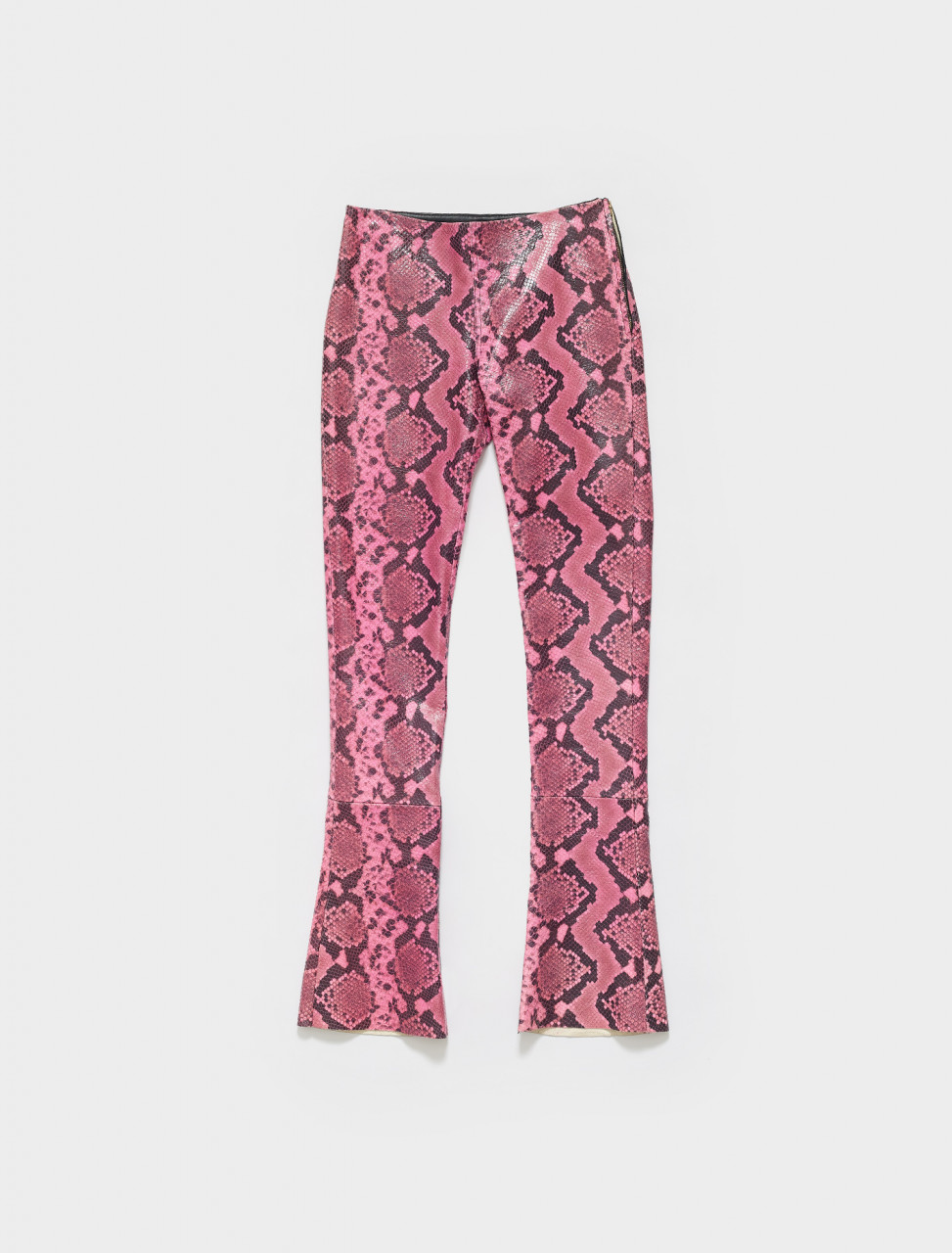 SS19TR0116LTS MARQUES ALMEIDA BOOTCUT TROUSERS PINK