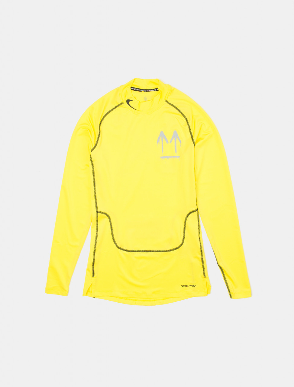x Off-White Long Sleeve Top in Optic Yellow