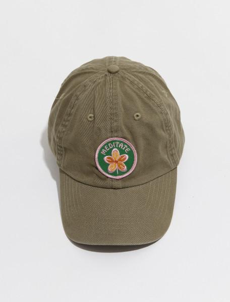 MC1 IDEA BOOKS LTD. MEDITATE CAP IN GREEN
