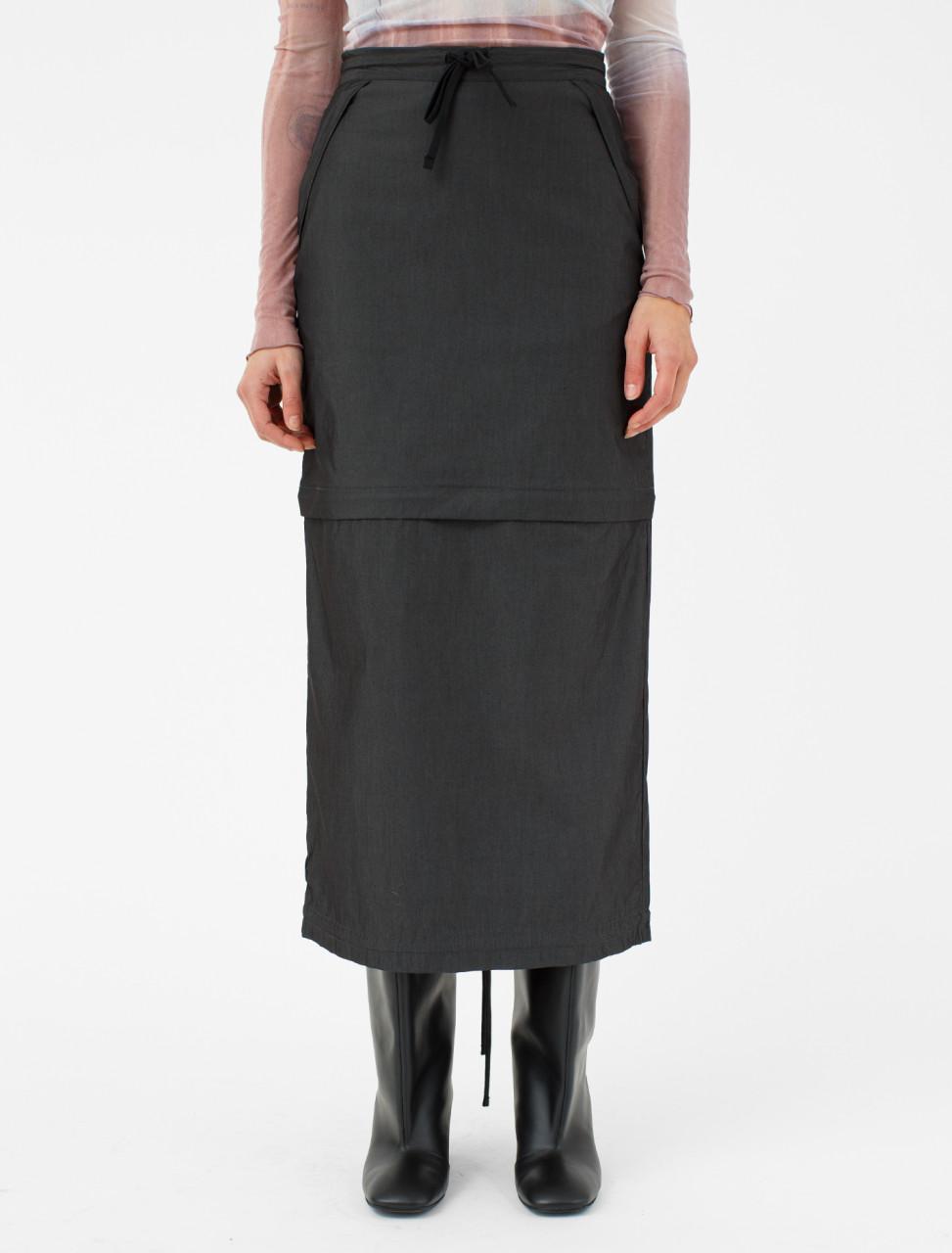 Zip-Off Skirt