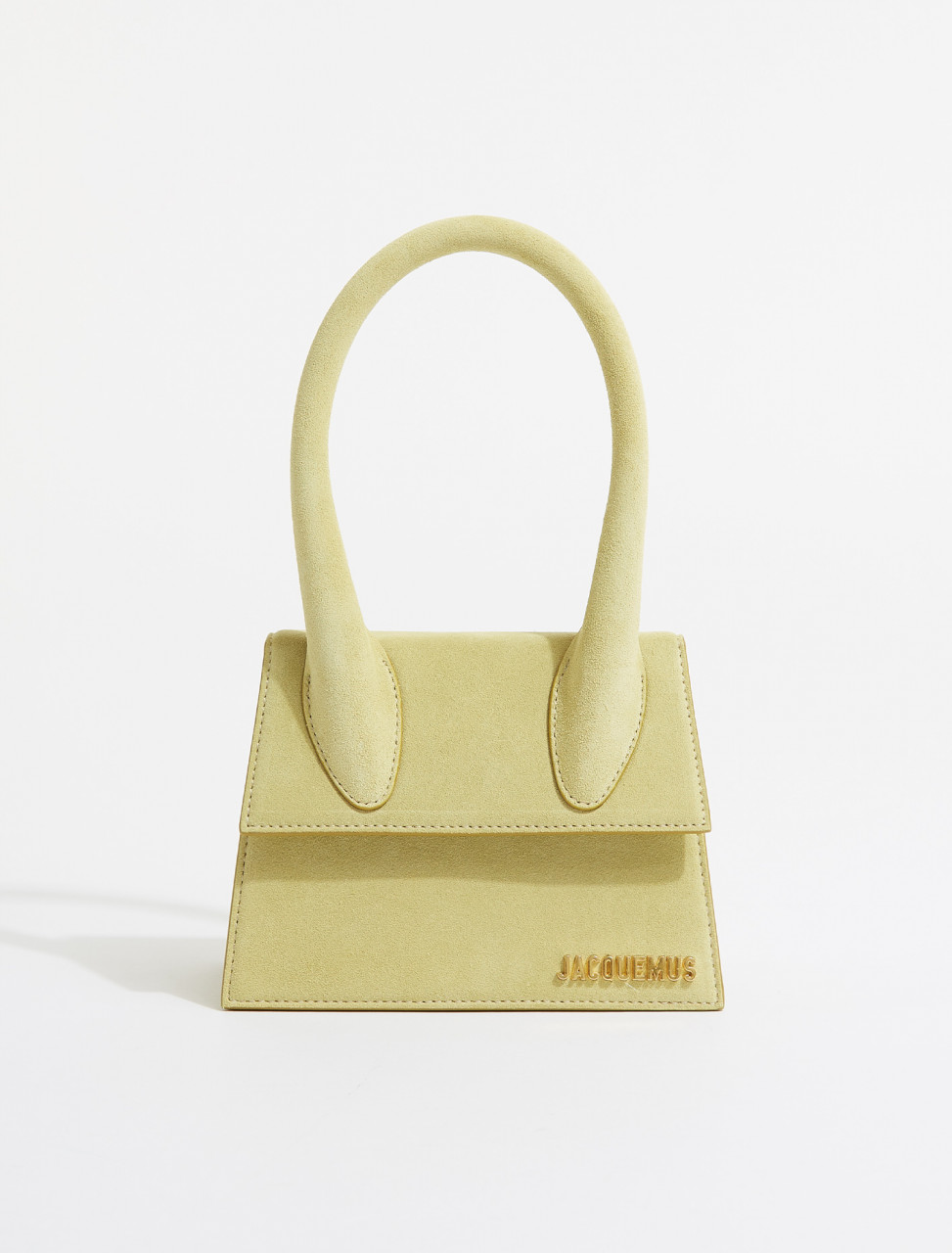 211BA02-211-302500 JACQUEMUS LE CHIQUITO MOYEN LIGHT GREEN