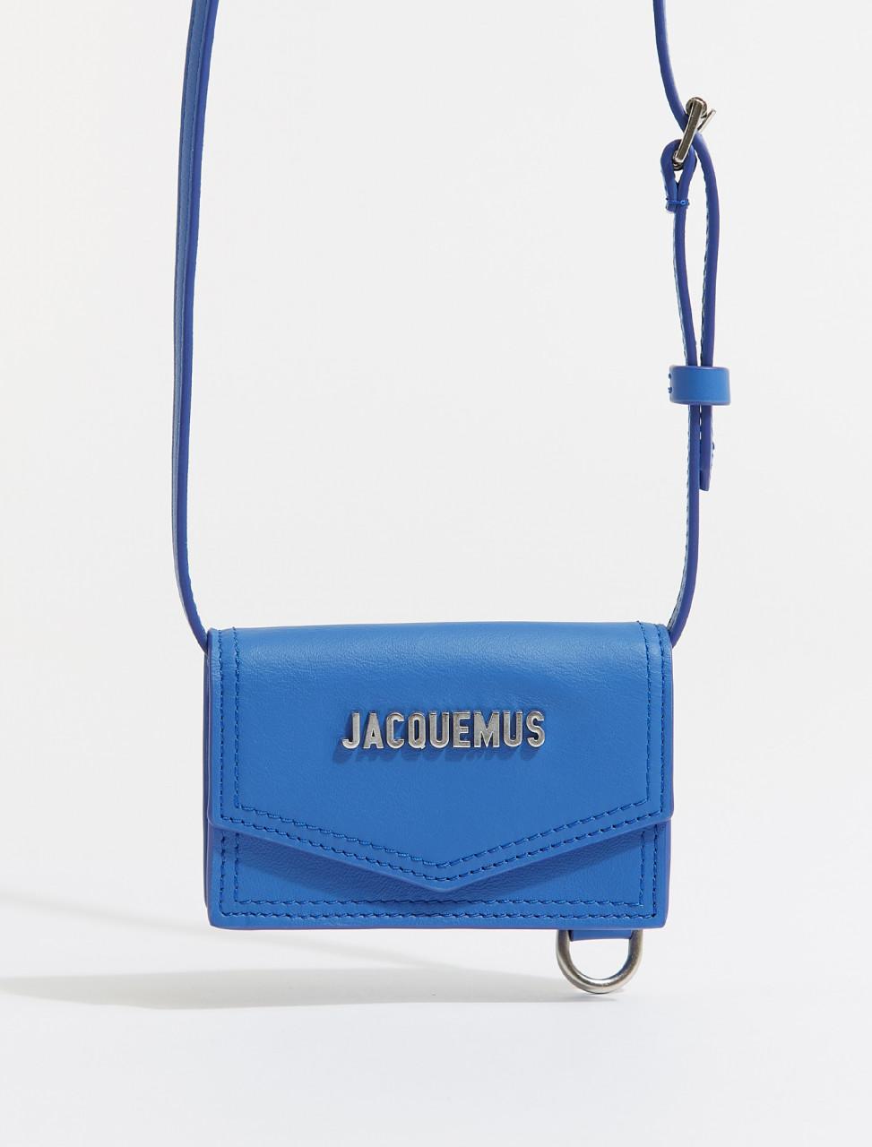 215SL04-215-301350 JACQUEMUS LE PORTE AZUR BLUE