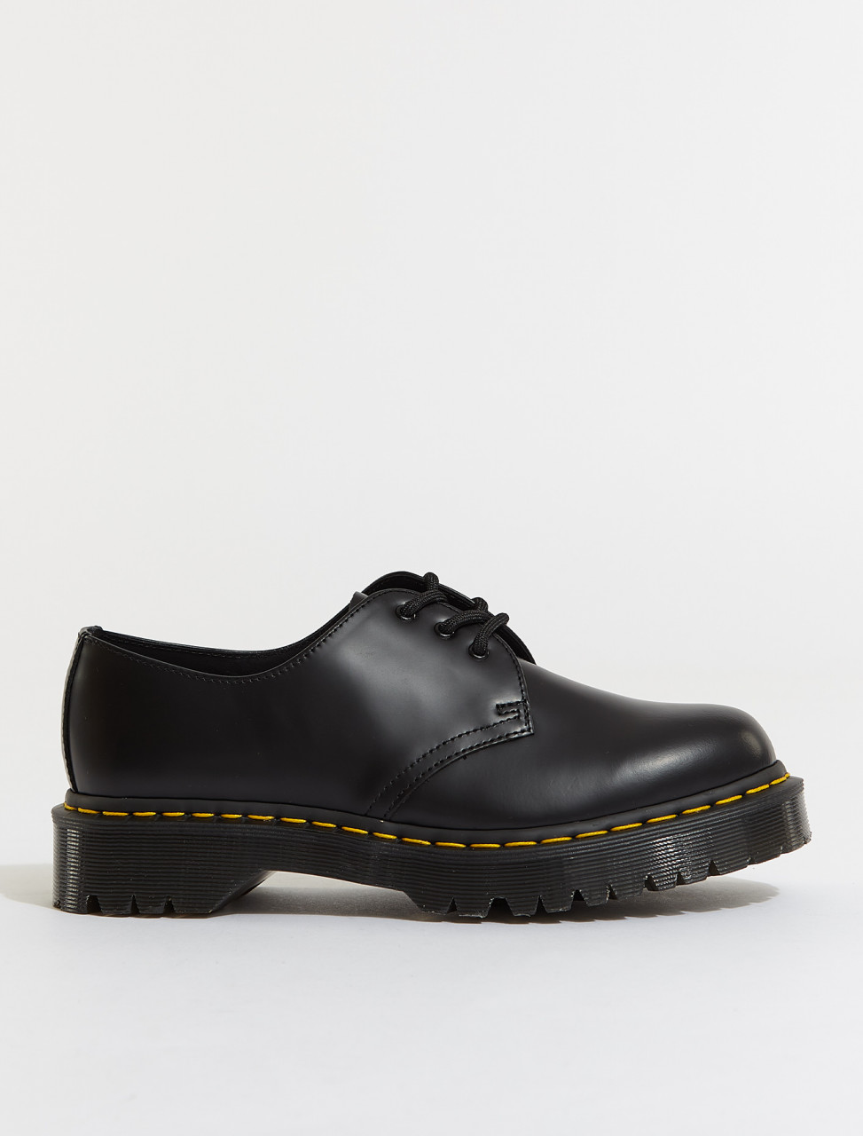 123-21084001 DR MARTENS 21084001 1461 BEX SHOE BLACK SMOOTH
