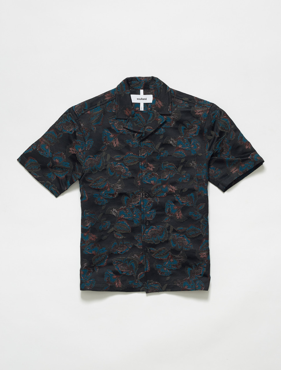 1077-1064 SOULLAND PAPPY SHIRT MULTI