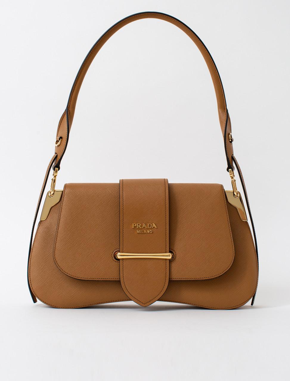 Saffiano Luxe Leather Handbag