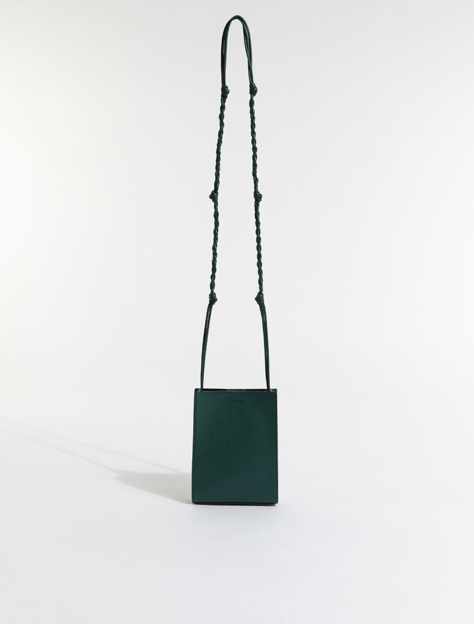 JSMS853173-MSB00035N-308 JIL SANDER TANGLE SMALL BAG IN DARK GREEN