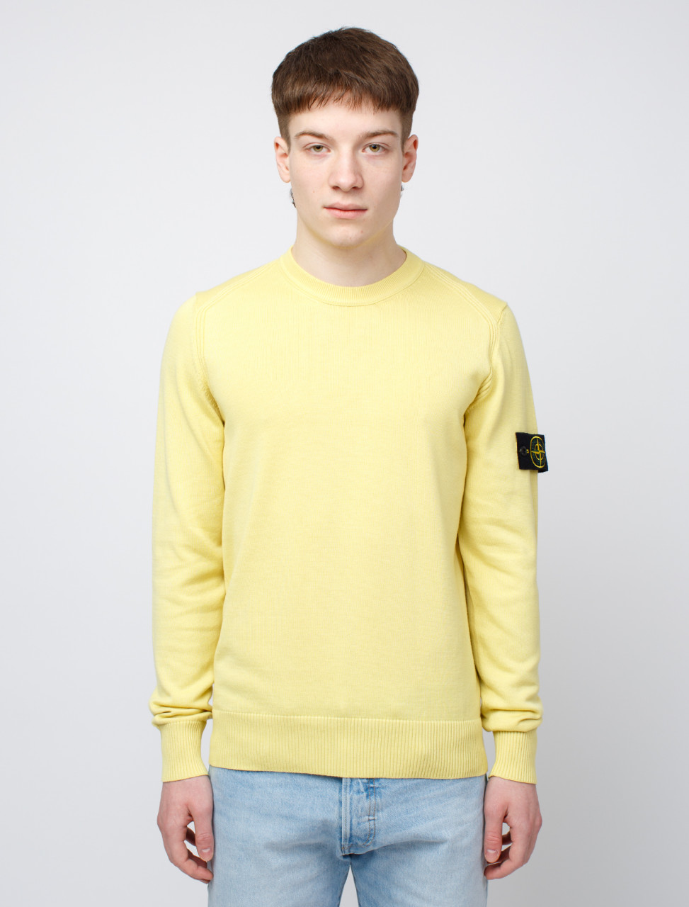 SI Lemon Cotton Knit Sweatshirt
