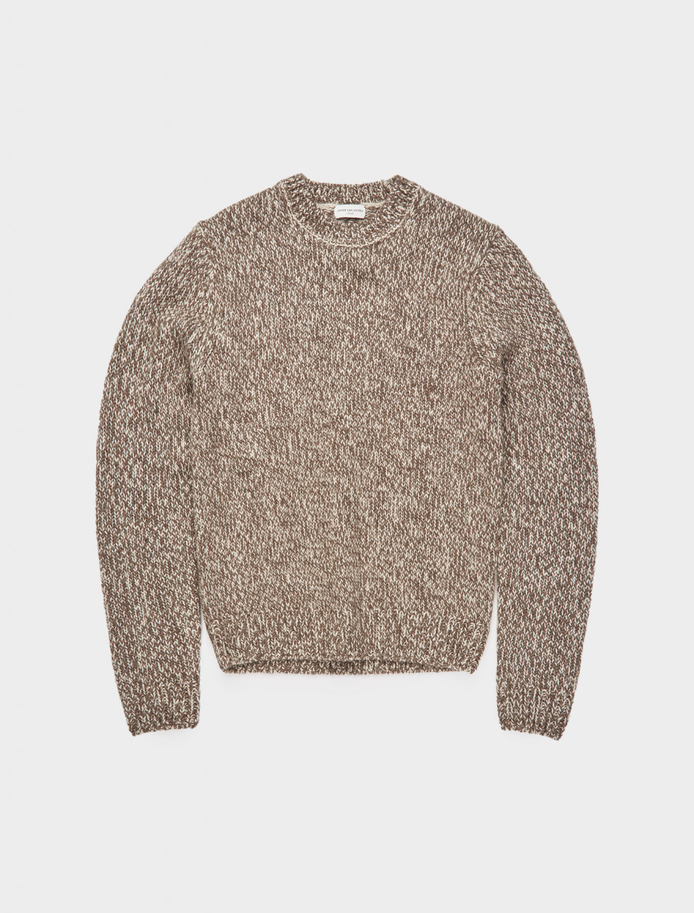 260-202-21206-1706-004 DRIES VAN NOTEN MIJOU CREW NECK KNIT NATURAL MELANGE