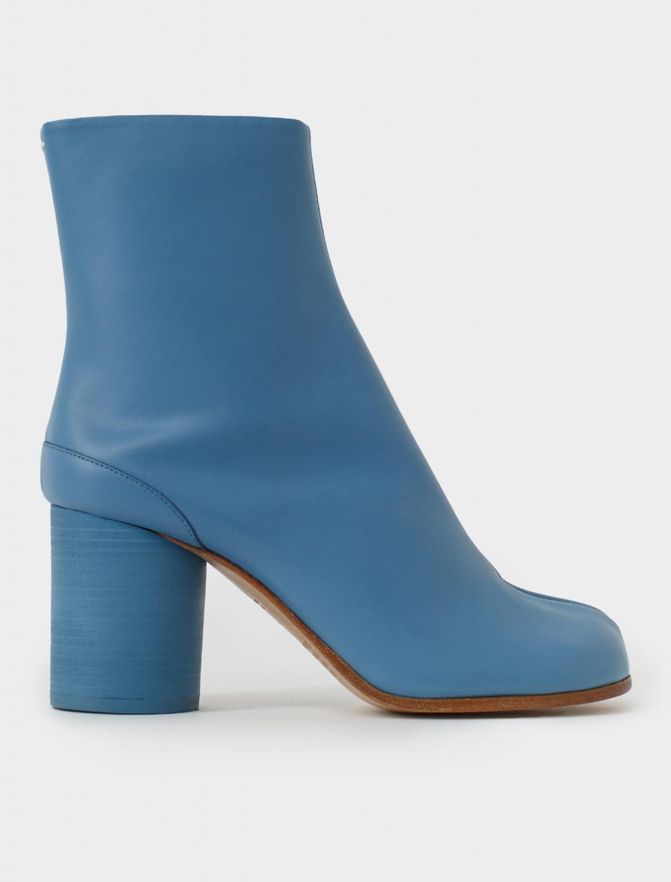 Blue Turquoise Tabi Boot