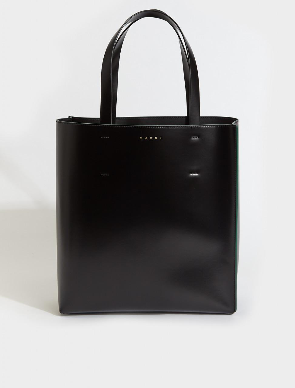 SHMPV02Y00-Z1N99 MARNI SHOPPING BAG BLACK